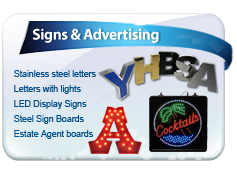 Signs & advertising