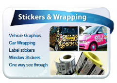 Stickers & wrapping