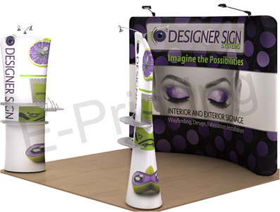Tension Fabric Displays - Arc